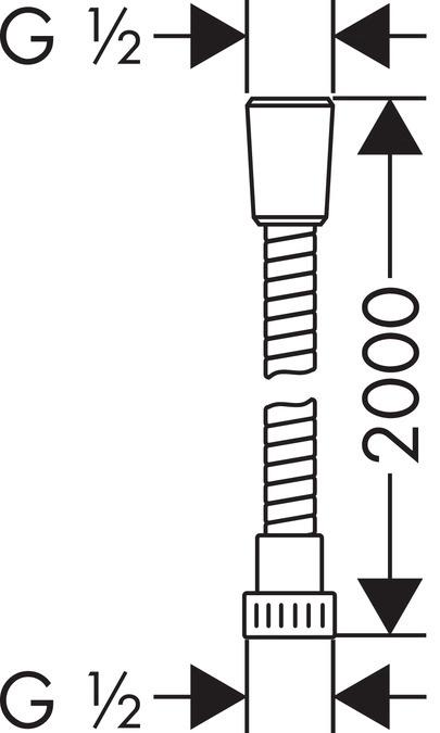 Hansgrohe Metaflex Shower Hose 28264