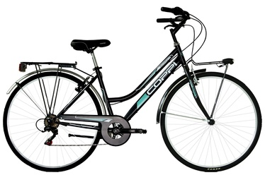 Coppi City Bike Lady 28'' 43 Black