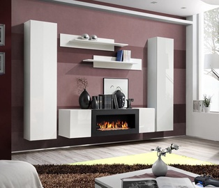 ASM Fly M1 Living Room Wall Unit Set White
