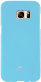 Mercury Jelly Back Case For Samsung Galaxy A7 A700 Light Blue