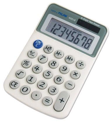 Milan Blister 8-Digit Calculator 40918BL