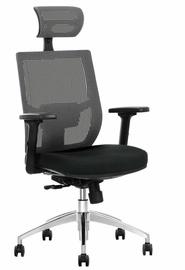 Офисный стул Halmar Admiral Black/Grey