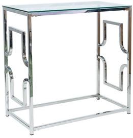 Консольный стол Signal Meble Versace C Silver, 800x400x780 мм
