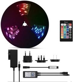 Viedo LED RGB Wi-Fi sloksni SONOFF L1 2M, 24W, 300lm / m, 230VAC