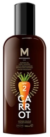 Mediterraneo Sun Carrot Sunscreen Dark Tanning Lotion SPF2 100ml