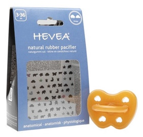 Hevea Car Anatomical Pacifier 3-36m