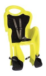 Детское кресло для велосипеда Bellelli Mr Fox Hi Wiz, черный/желтый, задняя