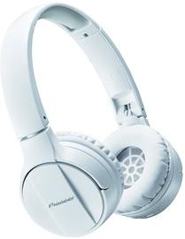 Pioneer SE-MJ553BT Bluetooth Headphones White (bojāts iepakojums)