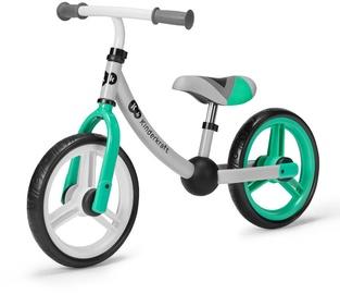 Балансирующий велосипед KinderKraft 2Way Next Light Green, зеленый, 12″