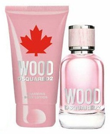 Smaržas Dsquared2 She Wood 30 ml EDP + Ķermeņa losjons 50 ml