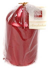 Eika Pillar Candle 13x7cm Red