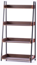 Полка Homede Trax, коричневый, 67x32x123.5 см