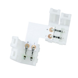 Savienojums Led lentai LED-CON-L8 8mm, L saspiežams