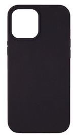 Evelatus Silicone Back Case With Bottom For Apple iPhone 12 Pro Max Black