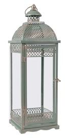 Home4you Venezia 1 Latern 17x17x53cm Mint Green/Copper