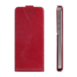 "GreenGo Sligo Universal Flip Case 4.6"" - 5.0"" Red"