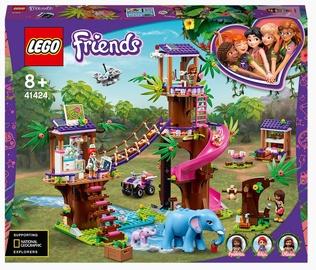 Конструктор LEGO® Friends Джунгли: штаб спасателей 41424