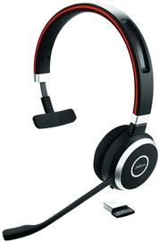 Беспроводные наушники Jabra Evolve 65 Series Mono, черный/красный