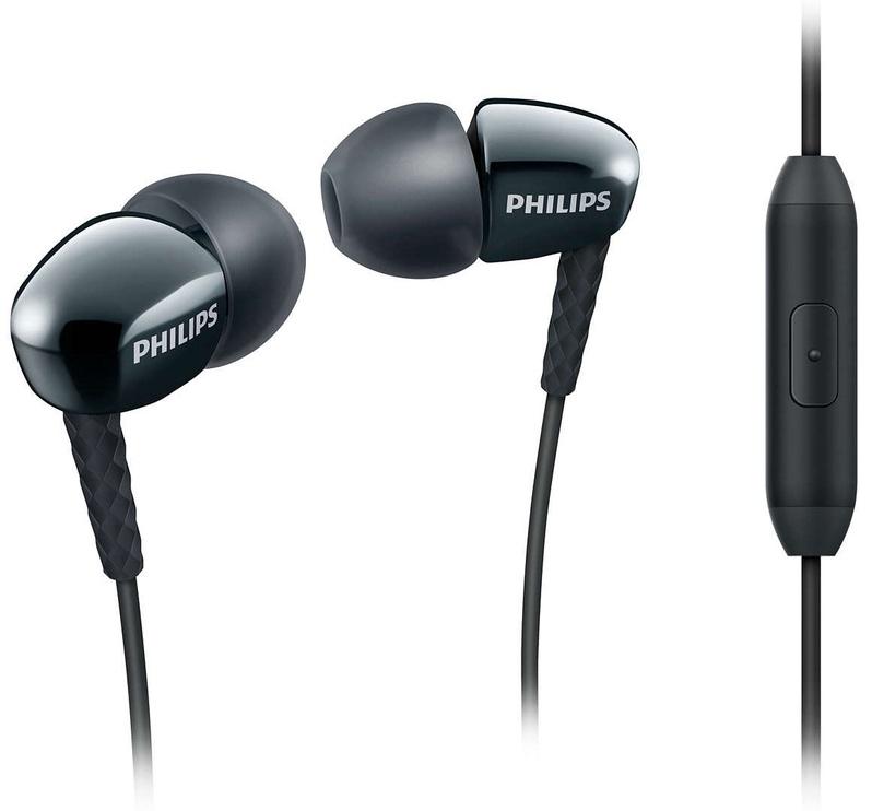 Austiņas Philips SHE3905BK Black, bezvadu