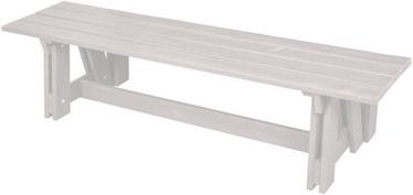 Скамейка Folkland Timber Riva White