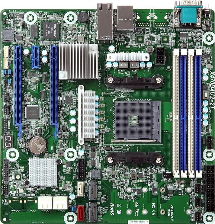 Материнская плата сервера X470D4U2-2T