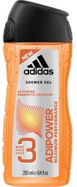 Гель для душа Adidas Adipower Shower Gel, 250 мл