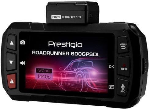 Videoreģistrators Prestigio RoadRunner 600GPSDL