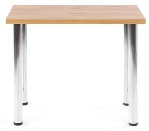Pusdienu galds Halmar Modex 90, hroma/ozola, 900x600x750mm
