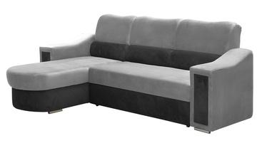 Stūra dīvāns Idzczak Meble Ostin Grey, 225 x 176 x 98 cm