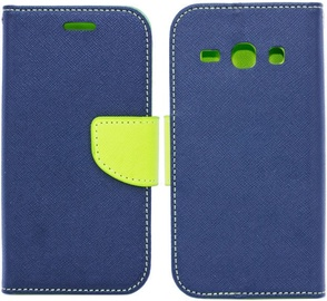 Telone Fancy Diary Bookstand Case For Samsung Galaxy J3 J330F Blue/Light Green