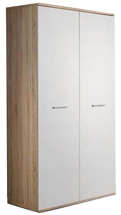 Skapis ASM Dino 2D White/Sonoma Oak, 90x55x191 cm