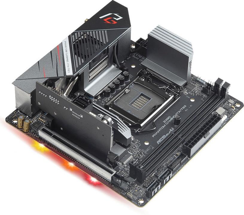 Mātesplate Z490 PHANTOM GAMING-ITX/TB3