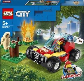 Konstruktors LEGO City Meža ugunsgrēks 60247, 84 gab.