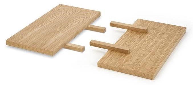 Halmar Table Extension Apex And Radus Natural Veneer 78/40cm