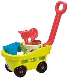 Smilšu kastes rotaļlietu komplekts Ecoiffier Gardeners set, daudzkrāsains, 6 gab.