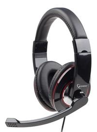 Austiņas Gembird MHS-U-001 Glossy Black