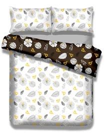 AmeliaHome Snuggy Floral Rain Bedding Set 200x200/80x80 2pcs