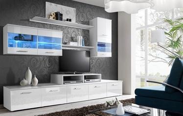 ASM Logo II Living Room Wall Unit Set LED White