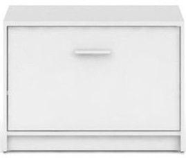Шкаф для обуви Black Red White Nepo Plus SFK1K-BI, белый, 700x340x500 мм