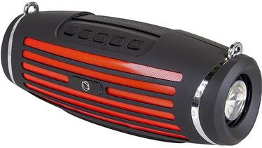 Беспроводной динамик Manta SPK14GO, черный/красный, 10 Вт