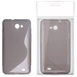 KLT Back Case S-Line Nokia 800 Lumia Silicone/Plastic Black/Transparent