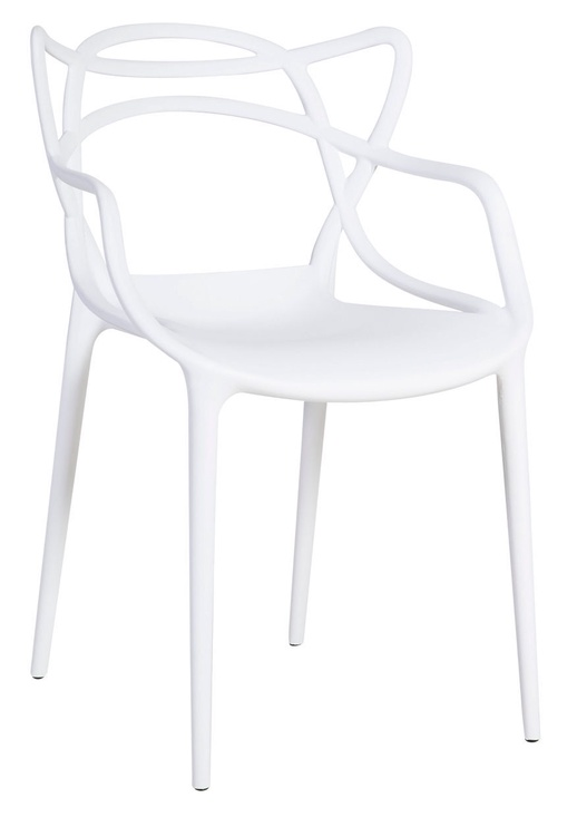 Стул для столовой Home4you Butterfly, белый