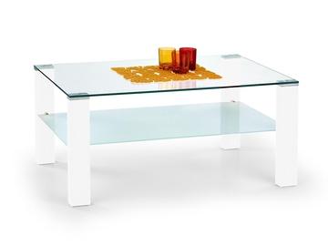Kafijas galdiņš Halmar Simple Lacquered White, 1000x600x450 mm