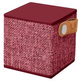 Bezvadu skaļrunis Fresh 'n Rebel Rockbox Cube Fabriq Red, 3 W