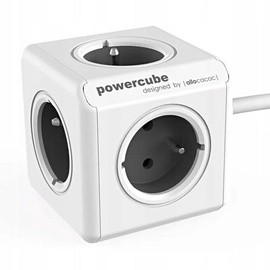 Allocacoc PowerCube Extended Type E 1.5m White/Grey