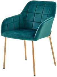 Ēdamistabas krēsls Halmar K306 Dark Green