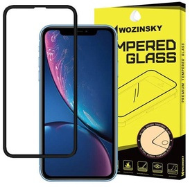 Wozinsky PRO+ 5D Full Glue Full Screen Protector For Apple iPhone XR Black