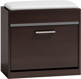 Шкаф для обуви Top E Shop Milano, коричневый, 600x300x530 мм