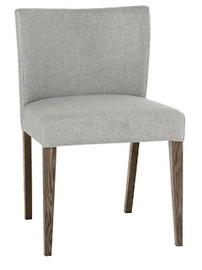 Ēdamistabas krēsls Home4you Turin, pelēka