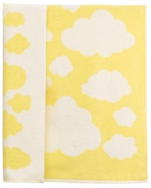 Dvielis Ardenza Terry Clouds Yellow, 70x120 cm, 1 gab.